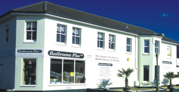 The original Bathrooms Plus located in Bournemouth