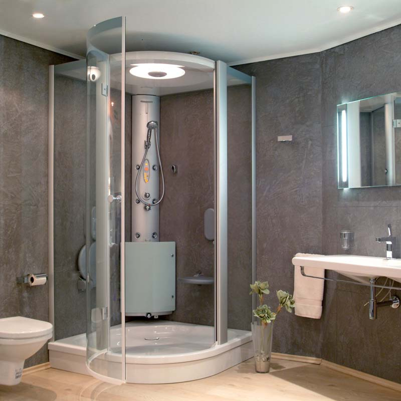 Bathrooms Plus offer a large range of bathroom showers and shower units that include walk-in, power shower, electric showers, shower heads, and accessories.