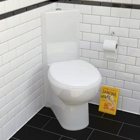 Metro Compact Corner Toilet