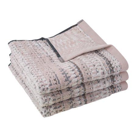 A by Amara - Lark Towel - Pink - Bath Sheet