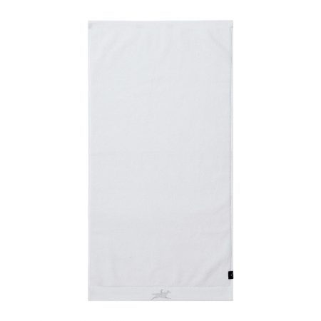 Ascot - White Luxe Rider Towel - Bath Towel