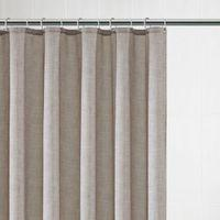 Blanka Natural Textured Shower Curtain (L)1.8 M