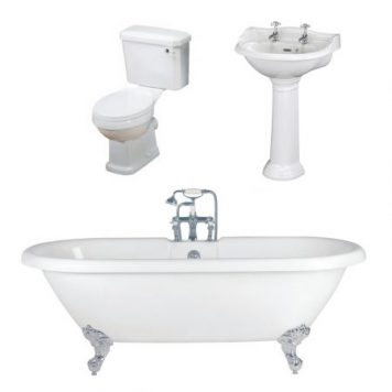 Cheapsuites Rowan Freestanding Bath Suite